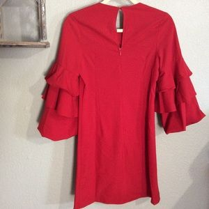 Gilli Dresses - NWT Small Gilli Red Dress with Ruffle Sleeves